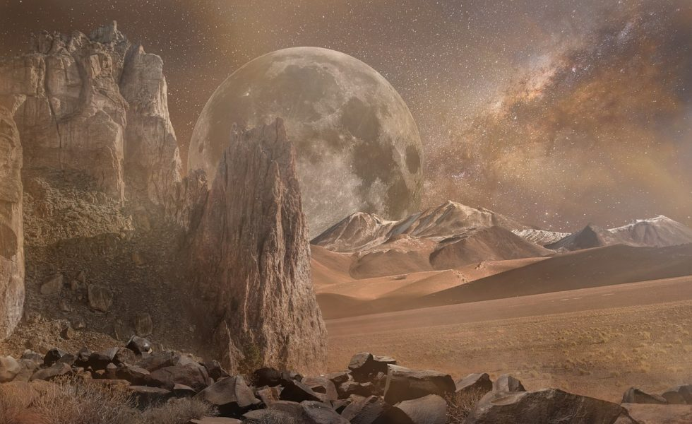 environnement hostile de Mars