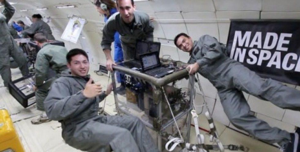 imprimante 3D dans l'espace