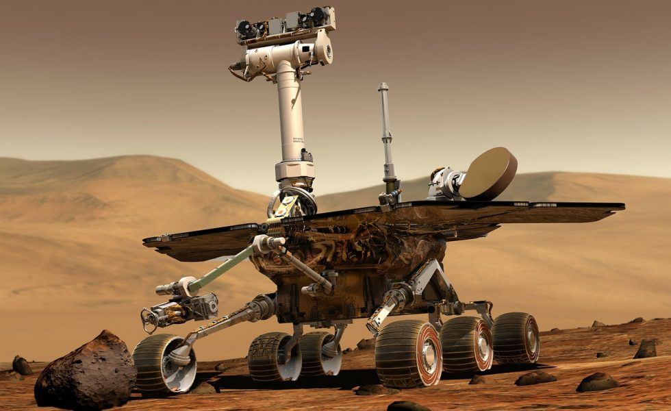 robot rover opportunity sur Mars